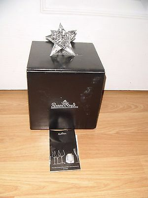 Exquisite Rosenthal Crystal Star Candle Holder ~ Germany ~ Brand New ~ BNIB