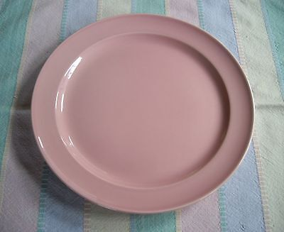 "Vintage TS&T Lu-Ray Pastels PINK 9"" Plate  ~"
