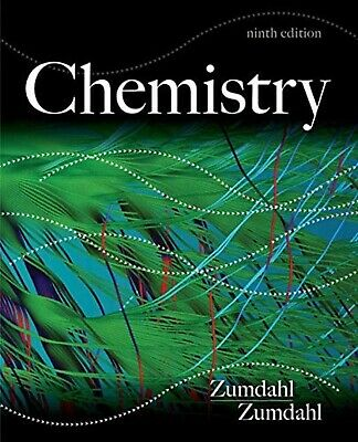 Chemistry 9th Edition by Steven Zumdahl and Susan Zumdahl (Looseleaf US Edition)
