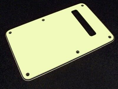 NEW Strat Back Plate MINT GREEN 3 Ply for USA Fender Stratocaster Guitar