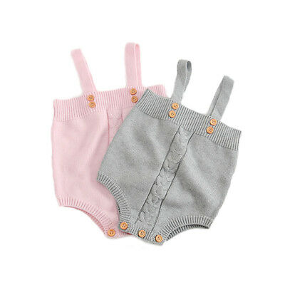 Knitted Baby Boy Romper Autumn Spring Infant Girl Jumpsuit Toddler Baby Clothing