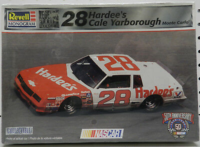1984 28 Hardees Cale Yarborough Chevy Monte Carlo Sealed Nascar Revell Model Kit