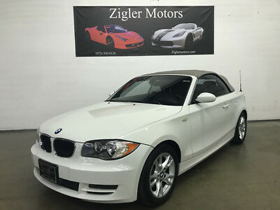 2008 BMW 1-Series Base Convertible 2-Door 2008 BMW 128i Convertible Sport,Automatic Clean Carfax