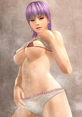 Dead Or Alive Xtreme 3 Ayane Bath Poster B2 Size