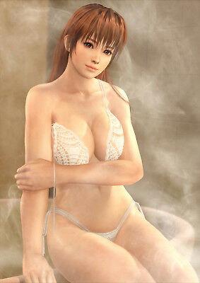 Dead Or Alive Xtreme 3 Kasumi Bath Poster B2 Size