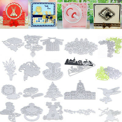 Metal Cutting Dies Stencil Craft Embossing Scrapbooking Christmas Series Hot
