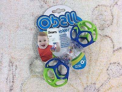Oball Shaker Rattle Baby Toys New In Package Unused