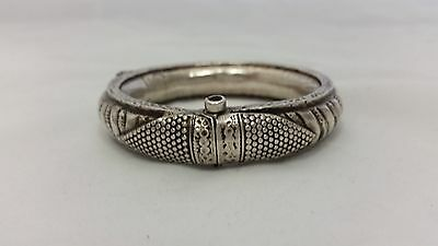 REDUCED ! Silver old Rajasthani bracelet from India, Indian jewellery, ethnic