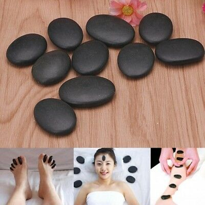 10PCS Lot Hot Spa Rock Basalt Stone Beauty Stones Massage Lava Natural Stone GS