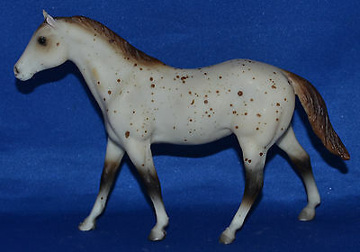Breyer~1988 JCP~Paddock Pals~Parade of Breeds~Appaloosa Quarter Horse Stallion