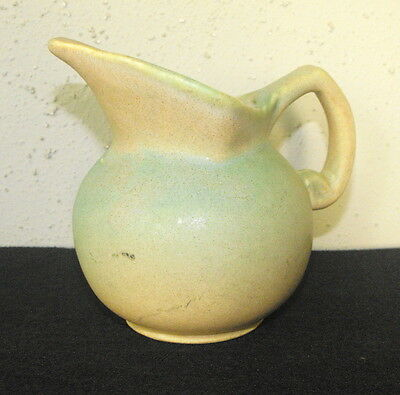 Niloak Art Pottery Matte Green Creamer Pitcher Jug