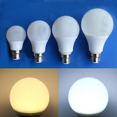 E27/B22 LED Bulb 3W 5W 7W 9W 12W Ceiling Globe Light DC12~24V No Flicker #T