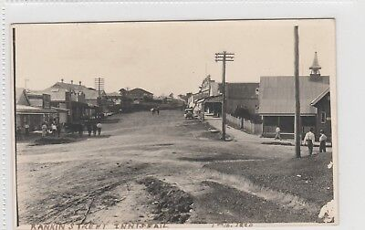 VINTAGE POSTCARD      RANKIN ST INNISFAIL NORTH QUEENSLAND 1900s rrpc