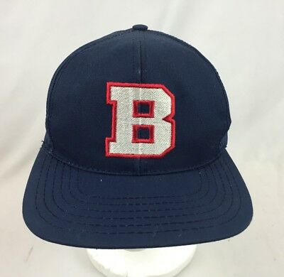 Vintage Budweiser B Logo Snapback Hat Cap USA Made Spell Out