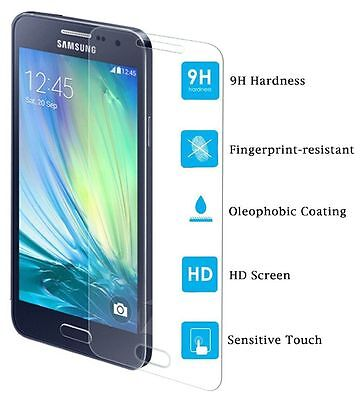 New 100% Genuine  Tempered Glass Screen Protector Samsung Galaxy A3 2015 A300F