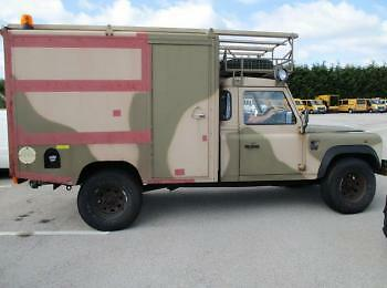 Landrover 130 Box  Ex Army / Mod 1997 P Reg 114000 Miles Mot March 2018, With V5