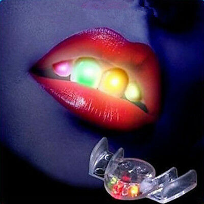 LED Flashing Mouth Lights For Party,Raves, Halloween Cool Glow Blinking Toy Best