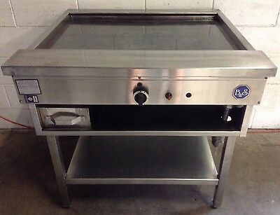 B &S TEPPANYAKI 900mm FLAT PLATE grill griddle commercial restaurant cafe