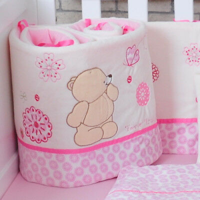 New Style Baby Crib Bumper Baby Bed Cot Protection Fashion Bumper For Bed 185cm