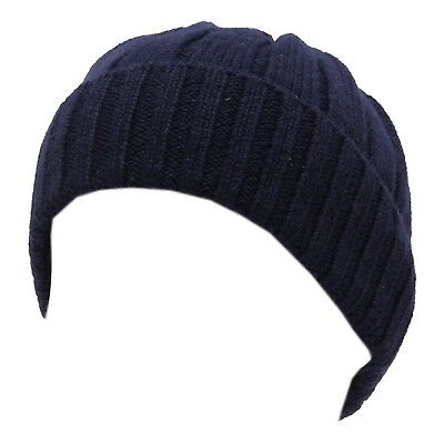 5204T cuffia bimbo K-WAY BRICE WOOL LOGO navy beanie hat kid
