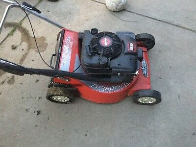Lawn mower rover self propelled with Briggs and Stratton motor