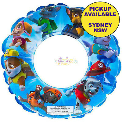 Paw Patrol Inflatable Swimming Pool Beach Floating Swim Ring Ages 3 +