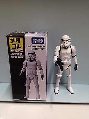 Takara Tomy Star Wars Die Cast #02 Stormtrooper Action Figure