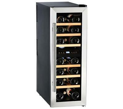 Husky HUS-CN215 Slimline Under Counter Dual Zone Red / White Wine Chiller PWW