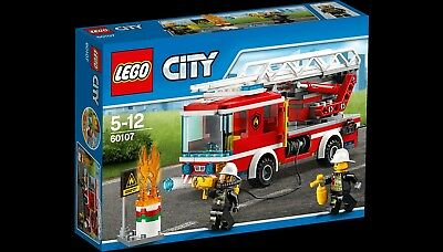 NEW! LEGO 60107 City Fire Ladder Truck - Free Postage
