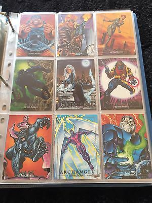 1992 Marvel Masterpiece Complete Master Set Promo/lost/signed/chase 117 Cards NM