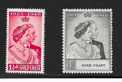 Gold Coast Sg 147-148 Silver Wedding A-23