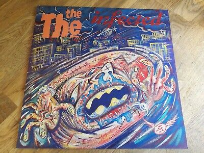The The LP The Infected UK Epic 1st press Johnny Marr NEAR MINT VINYL & COVER BB