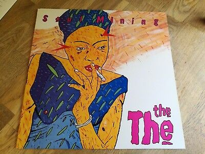 The The LP Soul mining UK Epic 1st press Johnny Marr NICE VINYL & NEW COVER BB