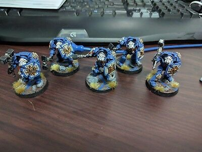 Ultramarines Close Combat Terminators