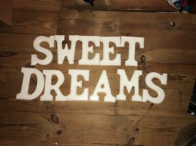 Sweet Dreams Hand painted Letters
