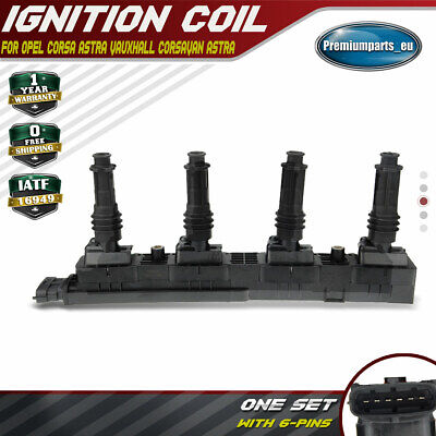 Ignition Coil Pack Module for Opel Agila Corsa C B Astra G Vauxhall 1.2L 1208012