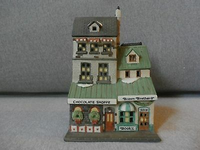 """Dept 56 Christmas in the City """"Chocolate Shoppe""""  #5968-4"""