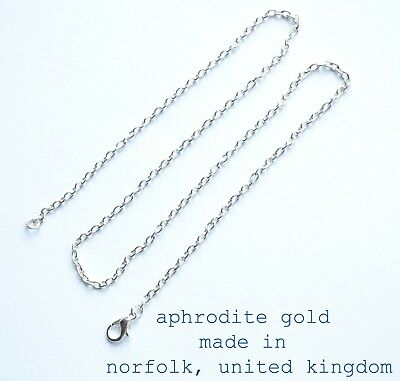 Silver Chain 18 inch Necklaces 2x3mm Premium Polished Choose Quantity JOBLOT