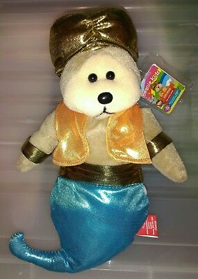 Beanie Kids, George the Genie Bear, New with tag