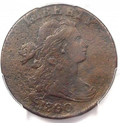 1800/79 Draped Bust Large Cent 1C S-192 - PCGS VF Details - Rare Overdate Coin