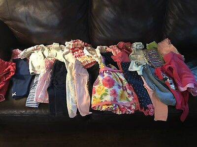 9 month baby girl clothes lot