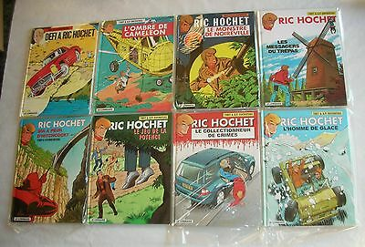 RIC HOCHET 8 Tomes: 3+4+15+43+55+61+68+69.STRICTEMENT NEUF ! Grande Opportunité