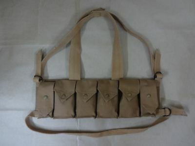 Rhodesian Fereday & Sons Chest Rig with Grenade Pocket - Reproduction