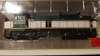 HO scale loco P22 FA with PN Logos Green&Yellow  Auscision/Austrains/Trainorama