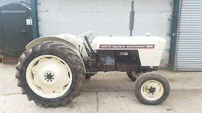 David brown 880 tractor 1968 selectamatic classic vintage