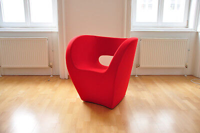 Sessel von Moroso. Little Albert. Designer Ron Arad. Indoor-Version gepolstert