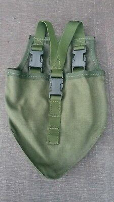Supergrade British Army Olive Green PLCE Entrenching Tool Pouch Cover Free P&P