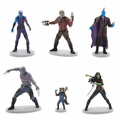 Disney Guardians Of The Galaxy 2 Figures Cake/topper Authentic Disney Store New