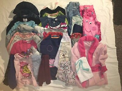 Large Girls Clothes Bundle 3-4 Years 41 Items