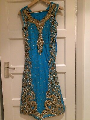 Salwar Kameez Size 8- Embroidered Formal Indian Wedding